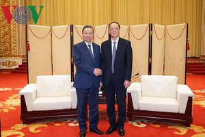 Bộ trưởng Công an Tô Lâm làm việc với Chủ tịch TP Đại Liên, Trung Quốc