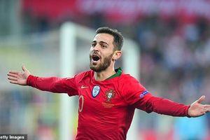 Không có Ronaldo, Bồ Đào Nha thắng trận thứ hai liên tiếp