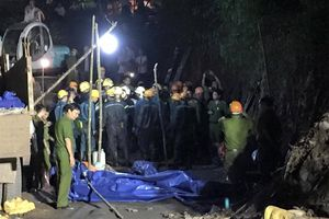 Sập hầm lò than ở Quảng Ninh, 3 công nhân thương vong