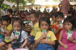 Sữa học đường: Phụ huynh cần thông tin