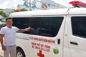 Mua ôtô phục vụ bệnh nhân nghèo miễn phí