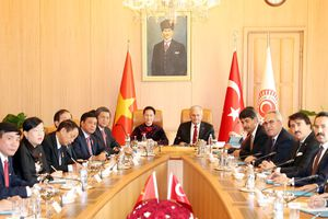 Củng cố quan hệ hợp tác nhiều mặt Việt Nam - Thổ Nhĩ Kỳ
