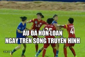 Toàn cảnh vụ ẩu đả quyết liệt giữa hai đội bóng nữ Việt Nam ngay trên sóng truyền hình trực tiếp