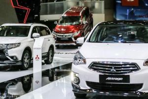 Giảm giá đồng loạt ô tô Mitsubishi
