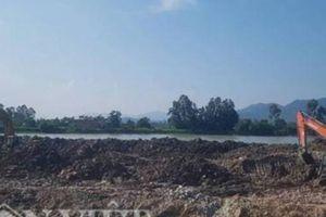Vụ hồ Tiểu Khê bị đào cả mét sai phép: Cơ quan chức năng dung túng?