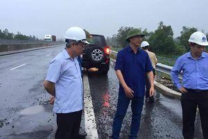 Cao tốc Đà Nẵng- Quảng Ngãi: Chưa nghiêm túc thực hiện chỉ đạo của bộ trưởng