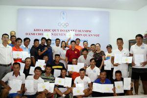 Quần vợt Việt Nam nâng cấp trình độ huấn luyện viên