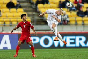 Myanmar thua đậm trước AFF Cup 2018
