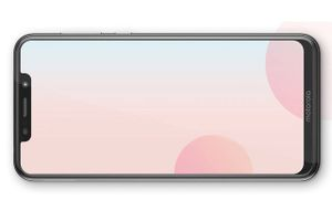Ảnh chi tiết smartphone thiết kế giống iPhone X, chạy Android One