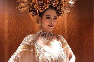 'Hoa hậu Trái đất 2018': Nguyễn Phương Khánh đạt giải vàng thi trang phục dân tộc