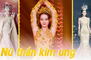 Dù lộng lẫy nhưng trang phục Nữ thần Kim Ưng Địch Lệ Nhiệt Ba vẫn chưa bằng Triệu Lệ Dĩnh và Đường Yên?