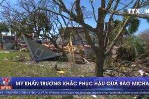 Mỹ khẩn trương khắc phục hậu quả bão Michael