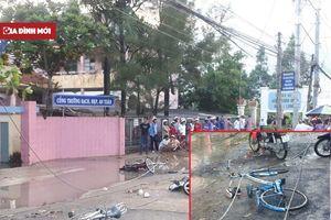 Đứt dây điện tại trường học làm 2 học sinh tử vong tại chỗ, 4 học sinh khác bị thương