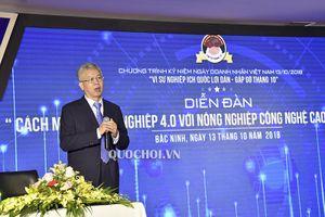 Cách mạng công nghiệp 4.0 với nông nghiệp Công nghệ cao tại Việt Nam