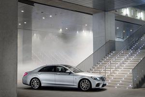 Ảnh chi tiết Mercedes S560e PHEV công suất 476 mã lực
