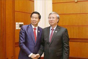Thúc đẩy quan hệ hợp tác giữa Thủ đô Viêng Chăn với Thủ đô Hà Nội và các tỉnh, thành phố của Việt Nam