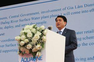 Hà Nội: Đưa vào hoạt động Nhà máy nước mặt sông Đuống