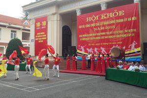 Sôi nổi 'Hội khỏe cán bộ công chức các cơ quan Thành ủy Hà Nội năm 2018'