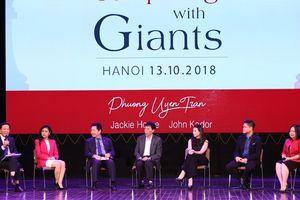 Nữ tướng nhà Dr Thanh và câu chuyện 'Vượt lên người khổng lồ'