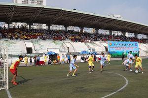 Kết quả loạt trận sáng 14-10 giải bóng đá học sinh 2018