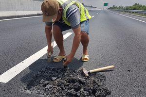 Cần sớm khắc phục sự cố trên tuyến đường cao tốc Đà Nẵng - Quảng Ngãi