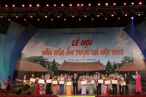 Lễ hội văn hóa ẩm thực Hà Nội 2018 thu hút gần 7 vạn lượt khách