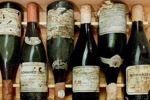 Đấu giá lô rượu vang đặc biệt sản xuất năm 1945