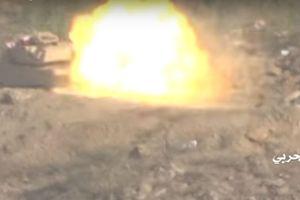 Houthi đánh tung siêu giáp trước diệt tăng Abrams