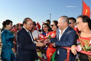 CHÙM ẢNH: Thủ tướng Nguyễn Xuân Phúc và Phu nhân bắt đầu chuyến thăm chính thức Cộng hòa Áo