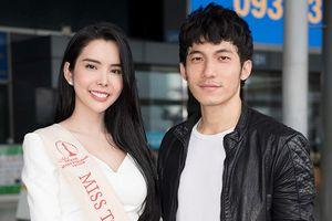 Liên Bỉnh Phát tiễn Huỳnh Vy đi thi Miss Tourism Queen Worldwide
