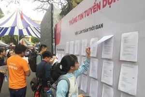 Hàng ngàn vị trí tuyển dụng tại 'Ngày hội sinh viên và Doanh nghiệp lần VI'