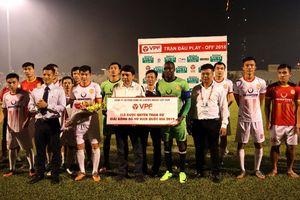 Câu lạc bộ Nam Định trụ lại V.League 2019