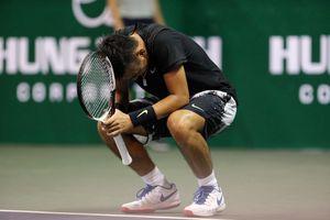 Lý Hoàng Nam thua đáng tiếc ở bán kết quần vợt nhà nghề Pháp