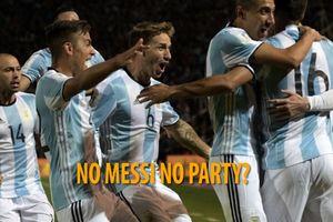 Không có Messi, Argentina vẫn sẵn sàng đánh bại Brazil