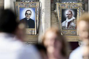 Vatican tuyên thánh Giáo hoàng Paul VI và tổng giám mục El Salvador