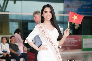 Huỳnh Vy quyết tâm giành chiến thắng ở đấu trường Miss Tourism Queen Worldwide 2018