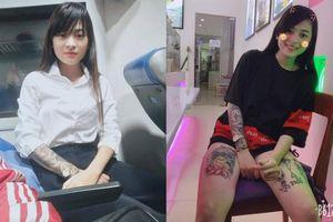 Nữ sinh xứ Quảng xinh xắn xăm đầy người từ năm cấp 3, bỏ đại học làm thợ xăm