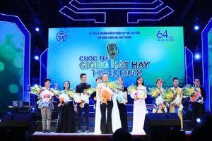 Nguyễn Thùy Liên đăng quang ngôi quán quân 'Giọng hát hay Hà Nội'
