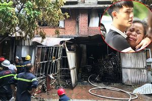 Những hình ảnh đau lòng sau vụ cháy xưởng sản xuất ghế sofa ở Hà Nội khiến 5 người thương vong