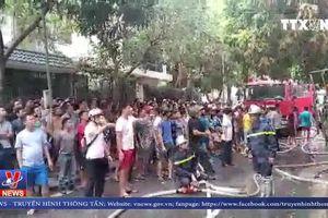 Cháy nhà kho tại Trung Văn, Hà Nội