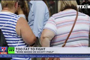 Mỹ khó tuyển quân do vấn nạn béo phì trong thanh thiếu niên