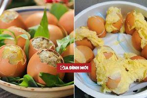 Học cách làm trứng nướng trên mạng thành phẩm của cô gái khiến dân mạng cười rớt hàm