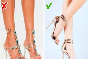 Sai lầm nghiêm trọng khiến đôi giày của bạn trông rẻ tiền