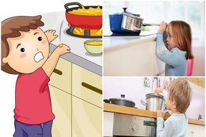 Để tránh tai nạn bỏng cho con, cha mẹ cần làm gì?