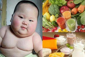 Trẻ béo phì nên ăn gì để giảm cân?