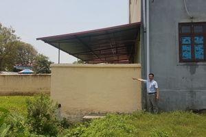Lương Tài - Bắc Ninh: Tiếp tục xác minh vụ dân tố trường mầm non xây dựng lấn chiếm đất