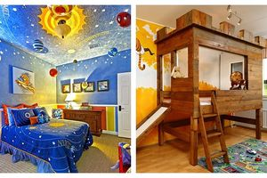 18 thiết kế tuyệt đẹp cho phòng ngủ của bé