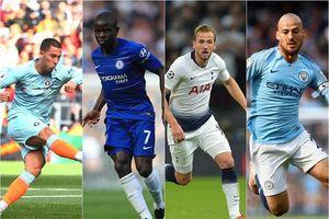 Siêu đội hình 3-4-3 của Premier League: Man City 'át vía' MU