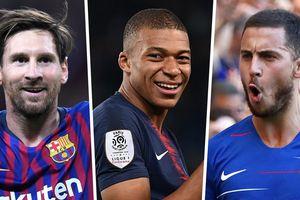 Ghi 11 bàn/11 trận cho Barca, Messi được vinh danh