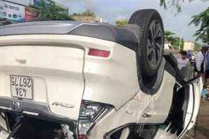 Phó Giám đốc Sở TN&MT Đà Nẵng lái xe tông xe tải rồi lật ngửa: Thông tin mới nhất